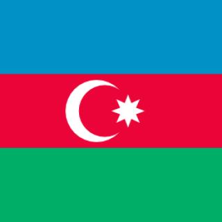 Azerbejdżan flaga