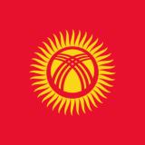 Flaga Kirgistan